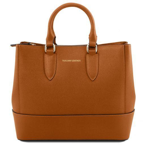 TL Bag Borsa a mano in pelle Saffiano Tuscany Leather
